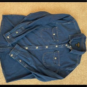 Urban Outfitters Jean shirt Mens  Large
